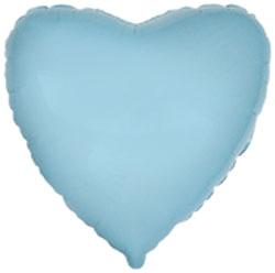 Globo de foil de 45 centímetros en azul claro