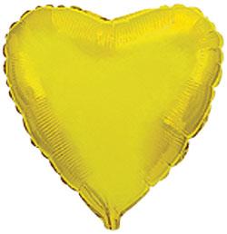 Globo de foil de 45 centímetros en color dorado
