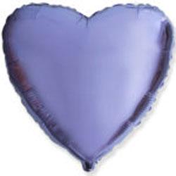 Globo de foil de 45 centímetros en color lila