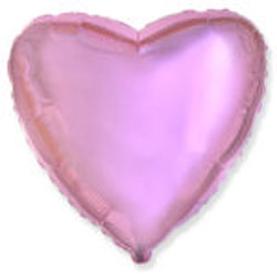 Globo de foil de 45 centímetros en color rosa metálico