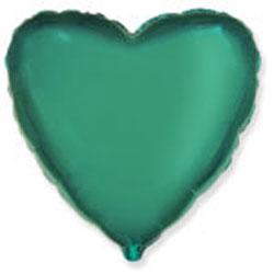 Globo de foil de 45 centímetros en color turquesa
