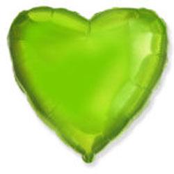 Globo de foil de 45 centímetros en color verde lima