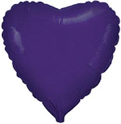 Globo de foil de 45 centímetros en color púrpura o violeta