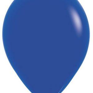 Globos de 30 centímetros, en color azul marino de la marca Sempertex