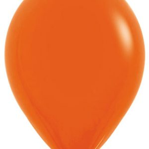Globos de 30 centímetros en color naranja de la marca Smepertex