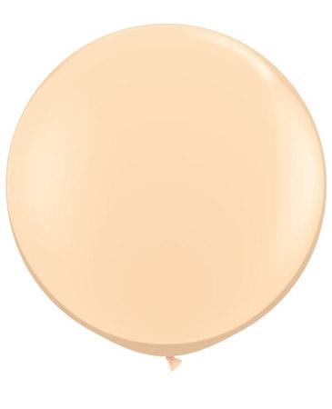 Globo de 80 centímetros, en color blush de la marca Qualatex