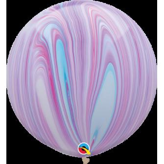 Globo de 80 centímetros, gama Agata en colores fashion de la maraca Qualatex