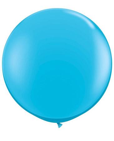Globo de 80 centímetros, en color Robbins egg de la marca Qualatex