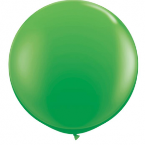 Globo de 80 centímetros, en color spring green de la marca Qualatex