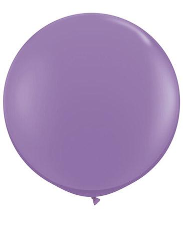 Globo de 80 centímetros, en color lila de la marca Qualatex