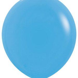 Globo de 80 centímetros, en color azul de la marca Sempertex