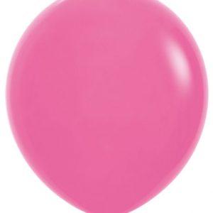 Globo de 80 centímetros, en color fuchsia a la marca Sempertex