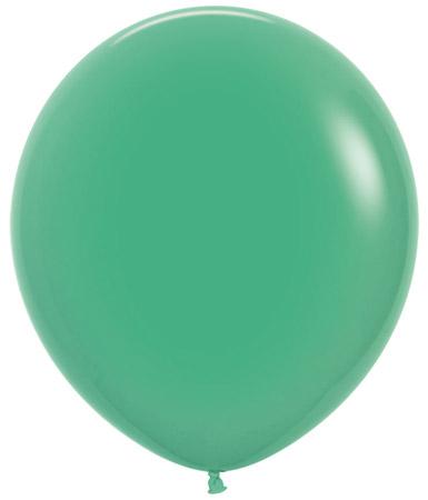 Globo de 80 centímetros, en color verde de la marca Sempertex