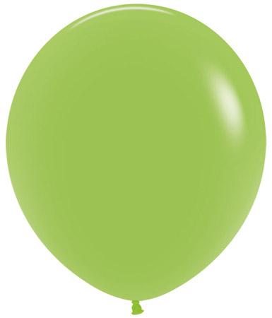 Globo de 80 centímetros, en color verde lima de la marca Sempertex