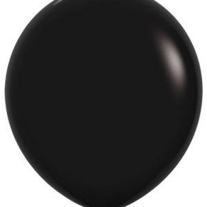 Globo de 80 centímetros, en color negro de la marca Sempertex