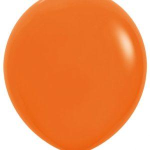 Globo de 80 centímetros, en color naranja de la marca Sempertex