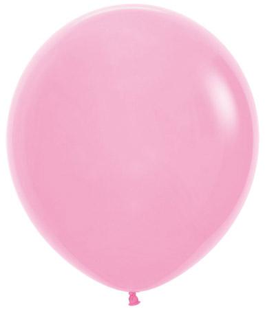 Globo de 80 centímetros, en color rosa de la marca Sempertex