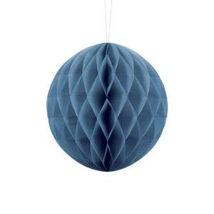1 Honeycomb o, bola nido de abeja, de 20 centímetros en color azul
