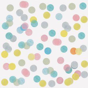 15 gramos de Confetti de colores pastel