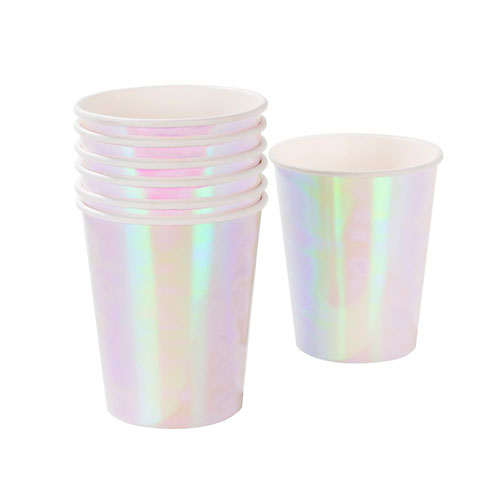 Vaso en color iridiscente diseñado por Talking Tables