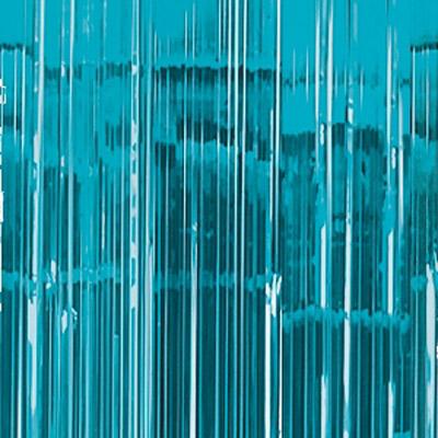 Cortina de 91 centímetros x 2,43 metros en color azul