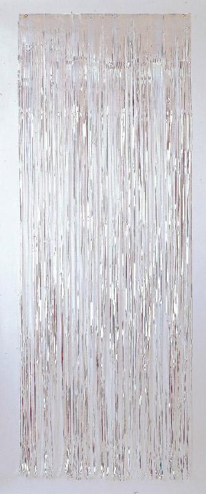 Cortina de 91 centímetros x 2,43 metros en color iridescente