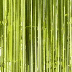 Cortina de 91 centímetros x 2,43 metros en color verde