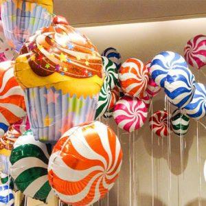 Globos foil candy 45 cms