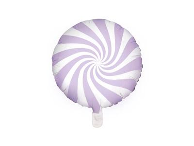 Globo caramelo candy de 45 centímetros en color lila patisserie