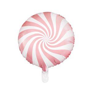 Globo caramelo candy de foil en color rosa patisserie de 45 centímetros