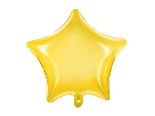 Fantásticos globos de foil transparente de color amarillo, para crear decoraciones espectaculares.