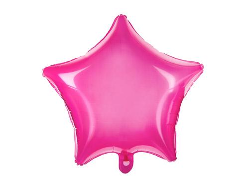 Fantásticos globos de foil transparente de color rosa, para crear decoraciones espectaculares.