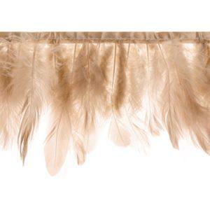 Guirnalda de 1 metro con plumas rosa. Esta guirnalda es ideal para decorar una habitación o una fiesta al aire libre