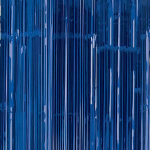 Cortina en color azul marino.Esta cortina permite crear divertidos espacios y darles un toque festivo.Se puede poner de fondo para crear un photocall.