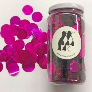 Confetti de color rosa.Ideal para bodas, cumpleaños, bautizos o fiestas.