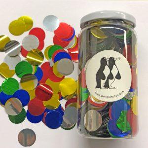 Confetti de color multicolor.Ideal para bodas, cumpleaños, bautizos o fiestas.