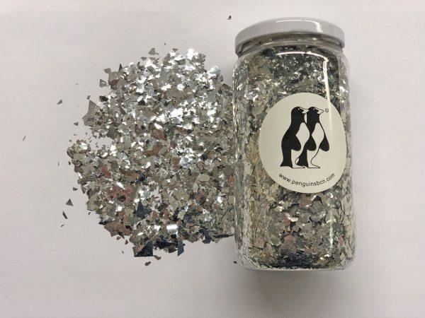 Confetti de color azul metálico.Ideal para bodas, cumpleaños, bautizos o fiestas.