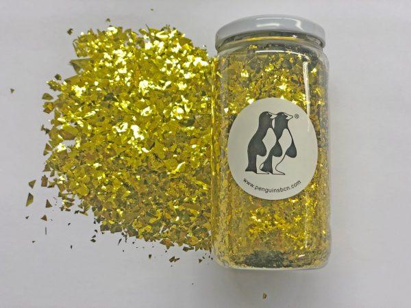 Confetti de color dorado metálico.Ideal para bodas, cumpleaños, bautizos o fiestas.