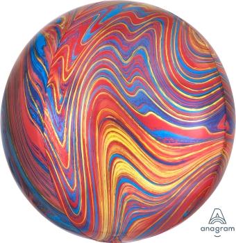 Fantásticos orbz de foil o poliamida para crear decoraciones espectaculares.