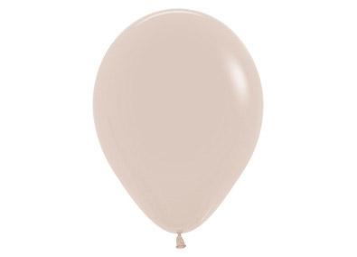 Bolsa con 50 globos de látex de 30 cms en color eucalipto. Fabricados por Sempertex. Tiene una capacidad de helio de 0,015m3.