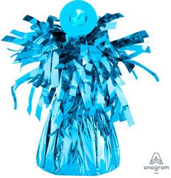 """Peso para que no se escapen los globos hinchados con helio. Pueden sujetar hasta 15 globos de latex de 11"""" y unos 30 de foil aprox."""