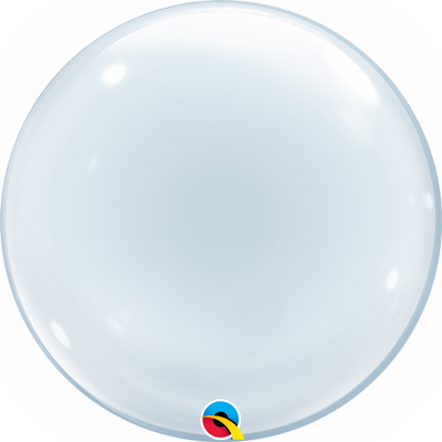 Fantásticos globos transparentes para crear decoraciones espectaculares. capacidad de helio de 0,032m3.